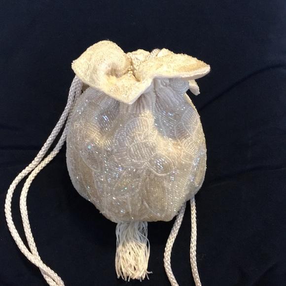 Vintage Handbags - Vintage Glass Beaded Bag